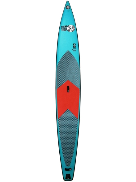 Light The Blue Series Race 14'0 SUP Board patroon