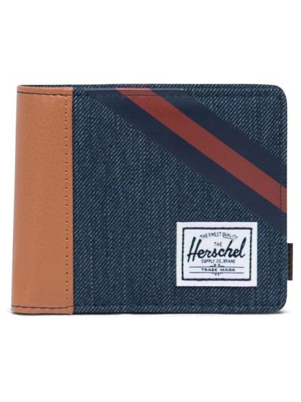 Herschel Roy Coin RFID Portemonnee blauw