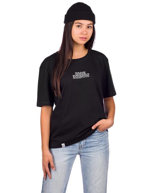 Blue Tomato Smell The Roses T-Shirt zwart