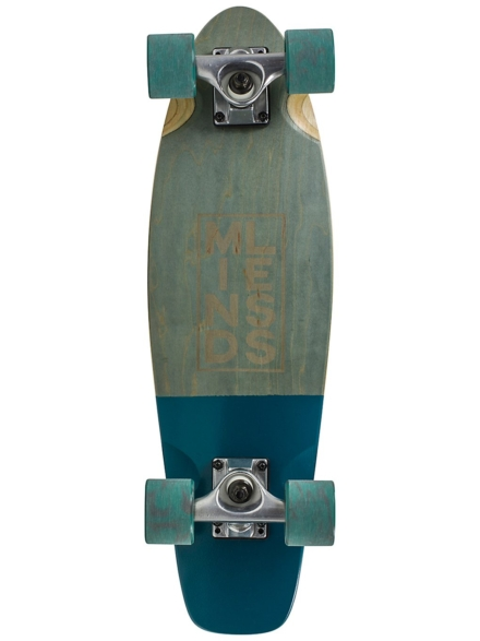 """Mindless Longboards Stained Daily III 24"""" Complete grijs"""