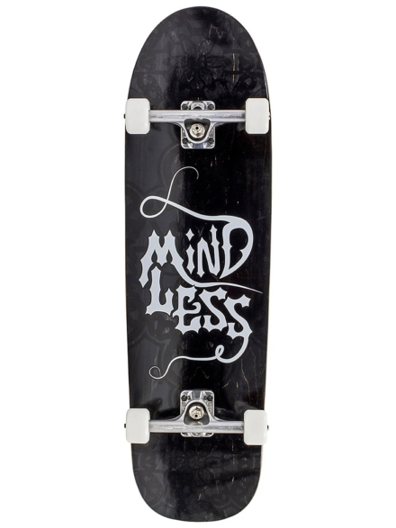 "Mindless Longboards Gothic 33.5"" Complete zwart"