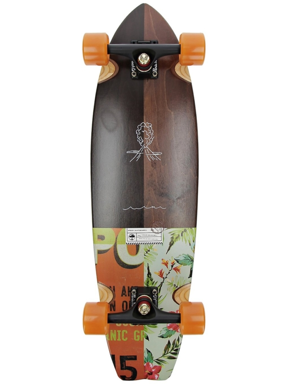 Arbor Groundswell Sizzler 32″ Complete patroon