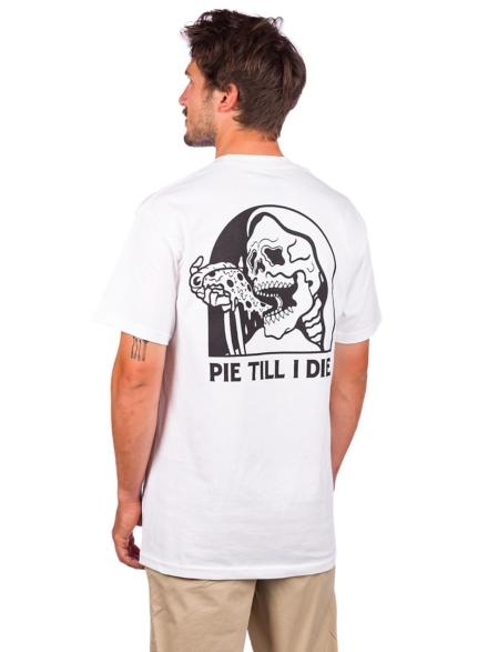 Lurking Class Pie Till I Die T-Shirt wit