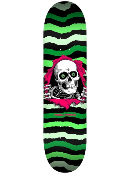 "Powell Peralta Ripper Popsicle 8.75"" Skateboard Deck groen"