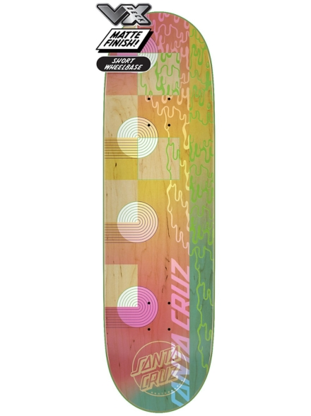 "Santa Cruz Framework VX 9.0"" Skateboard Deck patroon"