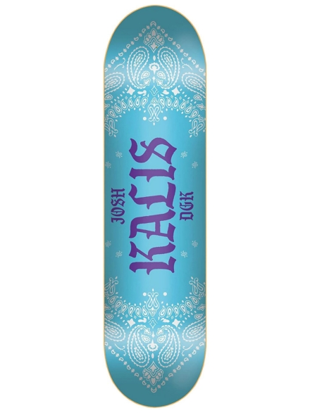 "DGK Colours Kalis 8.06"" Skateboard Deck blauw"