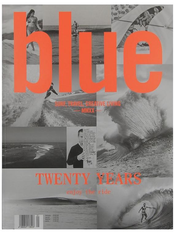 Blue Magazine Blue Yearbook 2020 Magazin patroon