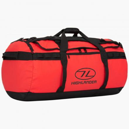 Highlander Storm Kitbag 90l duffle bag rood
