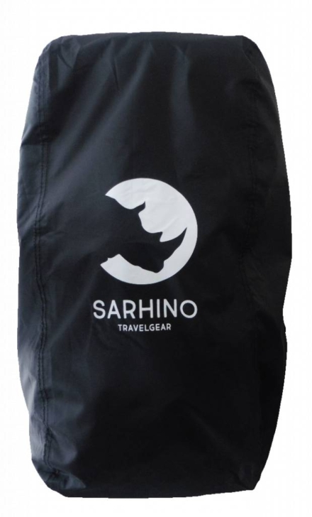 Sarhino Shield L 80-100l flightbag en regenhoes zwart
