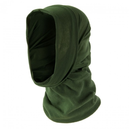 Highlander Thermal fleece nekwarmer balaclava sjaal olive groen