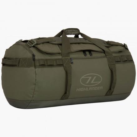 Highlander Storm Kitbag 90l duffle bag olive