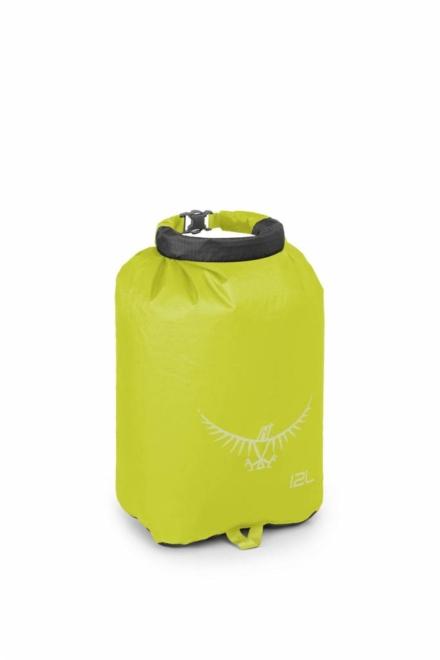 Osprey Ultralight DrySack 12 liter drybag Electric Lime waterdichte zak
