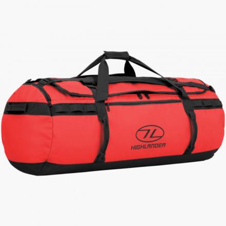 Highlander Storm Kitbag 120l duffle bag rood