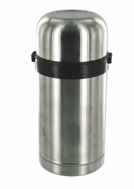 Highlander Thermosfles Food Flask zilver
