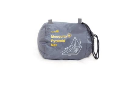 Ace Camp Piramide reisklamboe 1 persoons muskietennet zwart