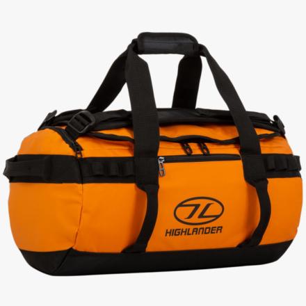 Highlander Storm Kitbag 30l duffle bag oranje