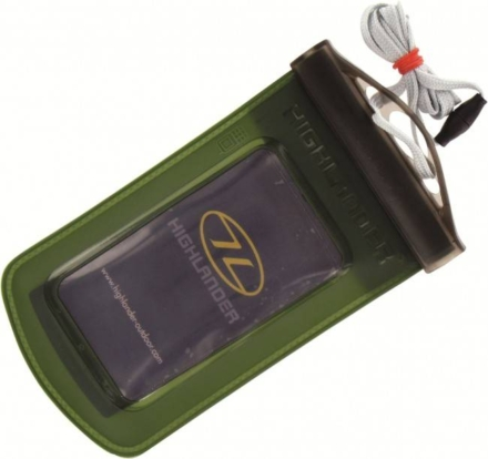 Highlander WPX Waterproof telefoonhoes of camerahoes olive