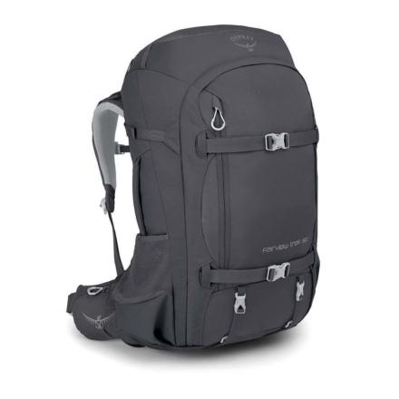 Osprey Fairview Trek 50 dames travelpack Charcoal Grey O/S