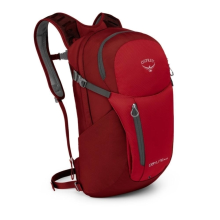 Osprey Daylite Plus 20l laptoprugzak Real Red