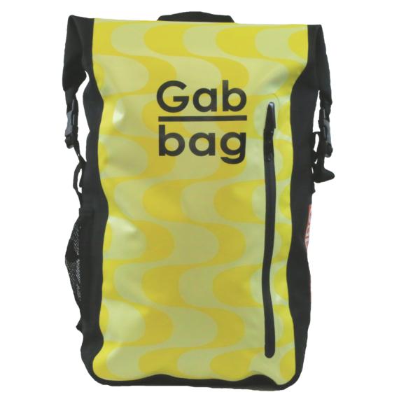 Gabbag The Original II 35l waterdichte laptop rugzak Geel