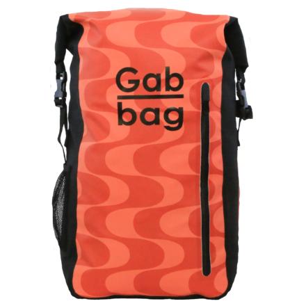 Gabbag The Original II 35l waterdichte laptop rugzak Rood