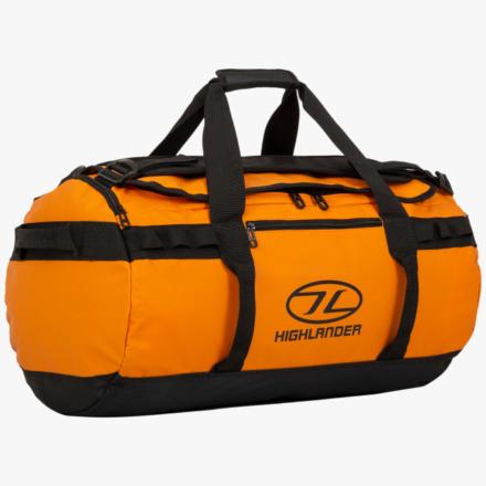 Highlander Storm Kitbag 45l duffle bag oranje