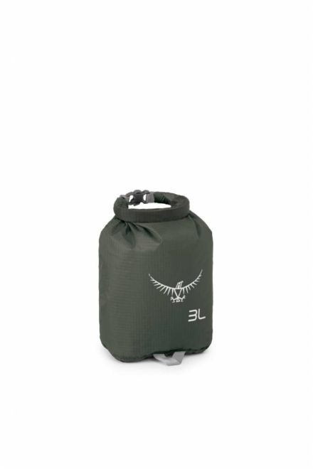 Osprey Ultralight DrySack 3 liter drybag Shadow Grey -waterdichte zak