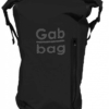 Gabbag Reflective 25L waterdichte rugzak zwart