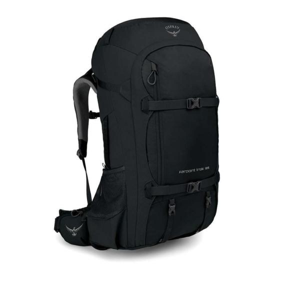 Osprey Farpoint Trek 55 travelpack zwart O/S