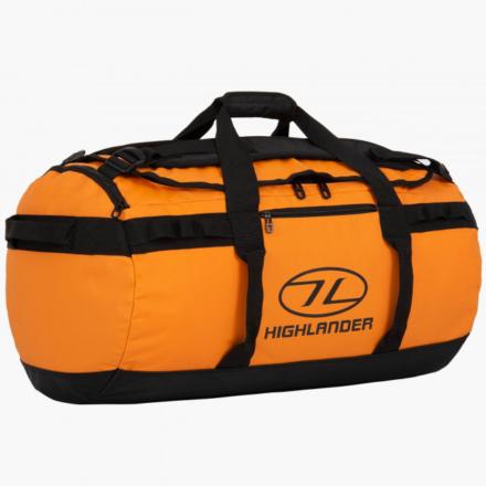 Highlander Storm Kitbag 65l duffle bag oranje