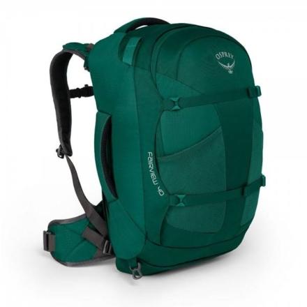 Osprey Fairview travelpack 40l dames Rainforest Green