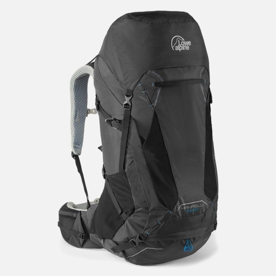 Lowe Alpine Manaslu 65:80l backpack heren zwart