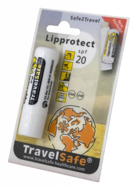 Travelsafe Lippen zonnebrand Ultra Lip Protector factor 20