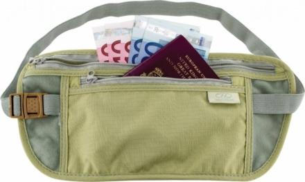 Highlander Moneybelt veilige reisportemonnee beige