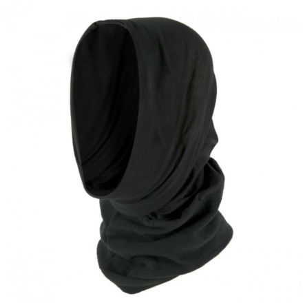 Highlander Thermal fleece nekwarmer balaclava sjaal zwart