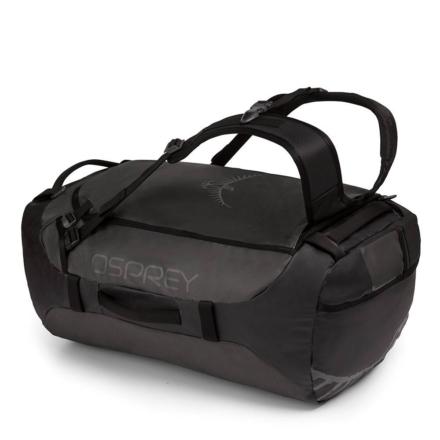 Osprey Transporter 65 liter duffle bag zwart