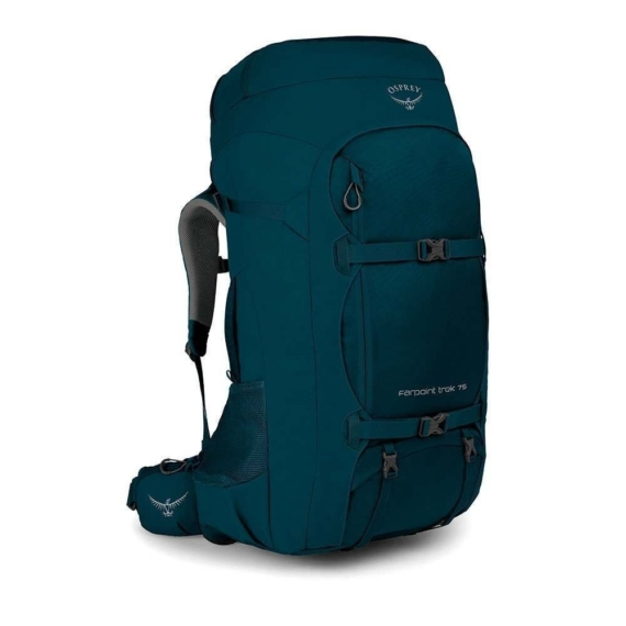 Osprey Farpoint Trek 75l travelpack heren Petrol Blue O/S