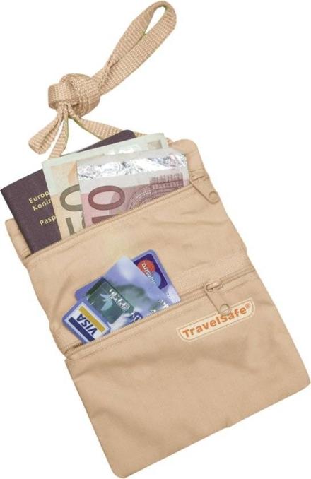 Travelsafe Nektasje moneybelt beige