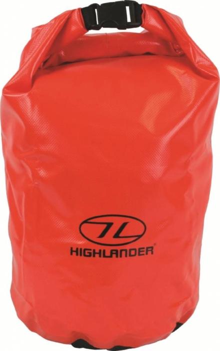 Highlander drybag small 16l oranje
