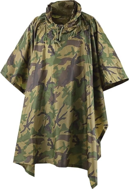 Pro-force Poncho met capuchon Camouflage