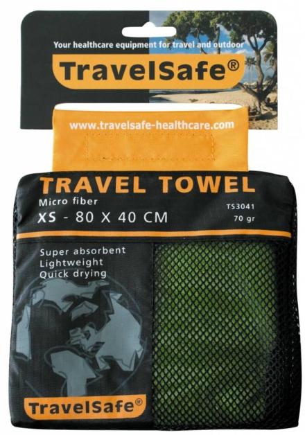 Travelsafe Reishanddoek XS 80 x 40 cm Lime groen