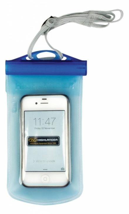 Highlander WPX Waterproof telefoonhoes of camerahoes blauw