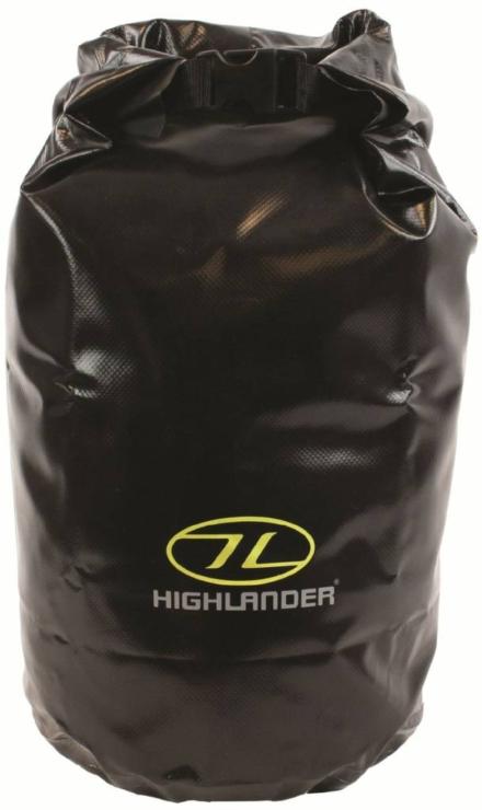 Highlander drybag small 16l zwart