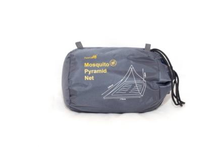Ace Camp Piramide reisklamboe 2 persoons muskietennet zwart