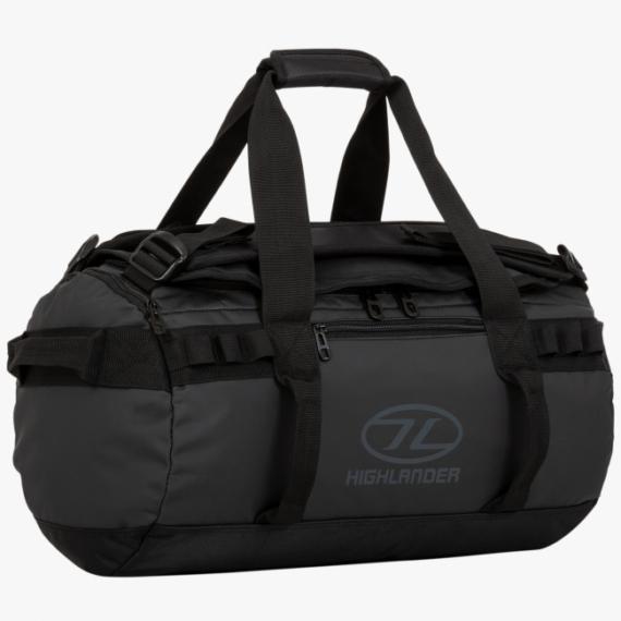 Highlander Storm Kitbag 30l duffle bag zwart