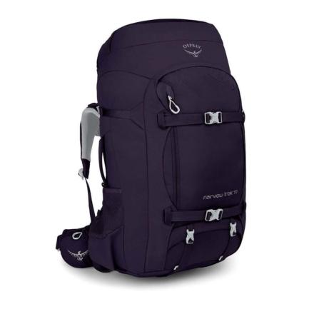 Osprey Fairview Trek 70 dames travelpack Amulet Purple O/S