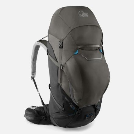 Lowe Alpine Cerro Torre 65:85l backpack heren zwart Greyhound