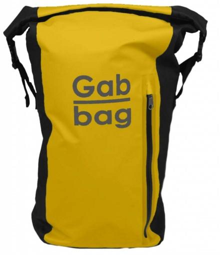 Gabbag Reflective 25L waterdichte rugzak geel