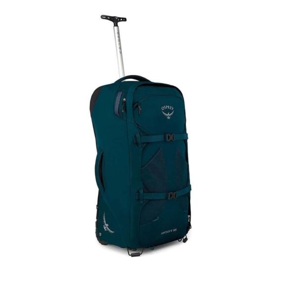 Osprey Farpoint Wheels 65L convertible travelpack heren- Petrol Blue o/s
