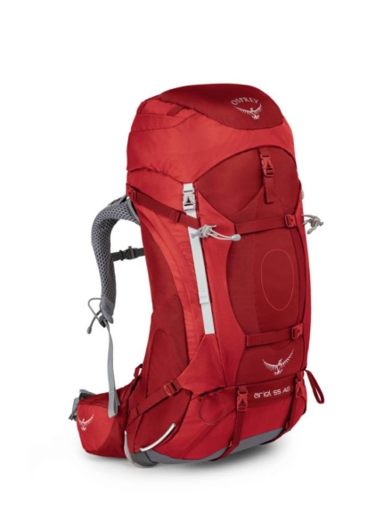 Osprey Ariel AG 55l backpack dames Picante Red